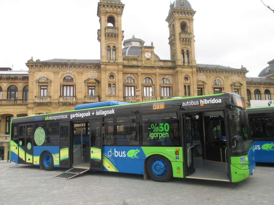 compania de autobuses de san sebastian: