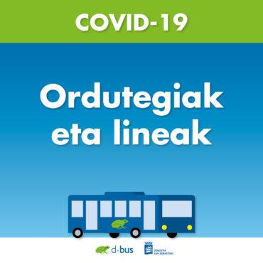 COVID19-ORDUTEGIAK-DBUS