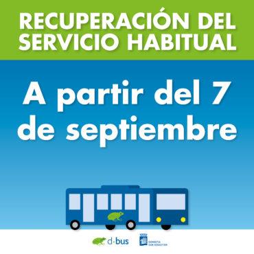 SERVICIO HABITUAL DBUS